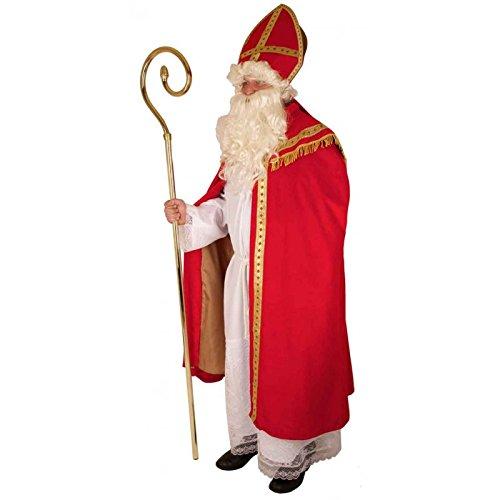 Kostüm Bischof / historischer St. Nikolaus / Santa Claus / Weihnachtsmann 4 teilig in Größe 54
