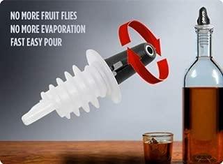 Pouro Plastic Liquor Pour Spout 12 Pk - Twist Open and Closed