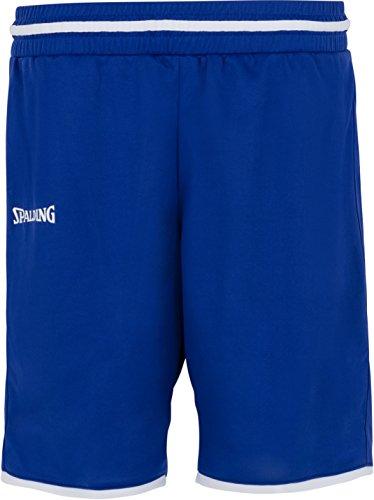 Spalding Womens 300514503_S Shorts, Blue,White, S