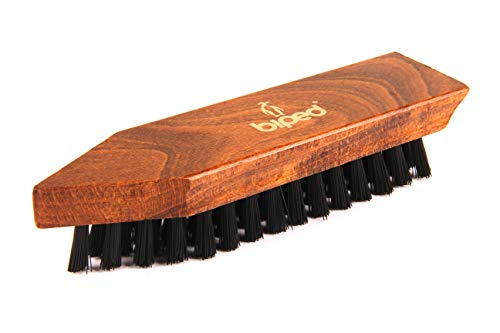 biped Schmutzbürste für Schuhe – Holz Schuhbürste 16,5 cm – Scheuerbürste – Classic Edition – z2450