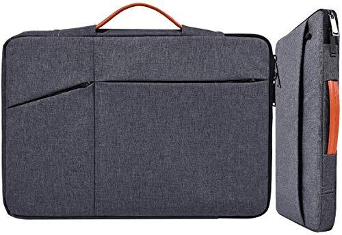 Laptop-Tasche für Laptops mit 29,5 cm (11,6-13 Zoll), wasserdicht, mit Zubehör, Organizer für Acer R11 Chromebook, Lenovo Chromebook C330, Samsung HP, Asus, Dell Chromebook grau - space gray 15.6 Inch