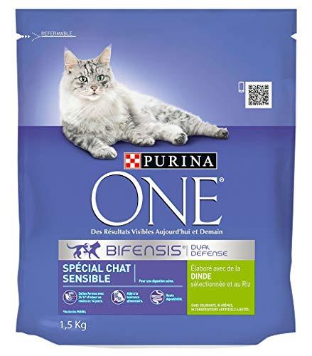 PURINA ONE Dry Cat Sensitive Türkei 1.5kg (3er-Pack) 1