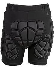 TTIO-Pantalones Cortos de Protección contra Impactos 3D con Almohadilla para la Cadera y Goma EVA para esquí, Snowboard y Snowboard Hombres y Mujeres