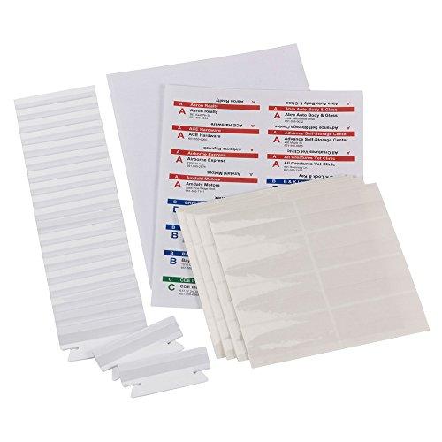 Smead Viewables 64905 - Pestañas y etiquetas para carpetas colgantes en 3D para impresoras de...
