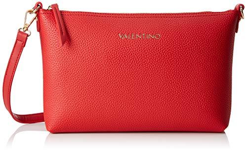Mario Valentino Valentino by Damen SUPERMAN POCHETTE, Rot (Rosso), 5.5x19x28 cm