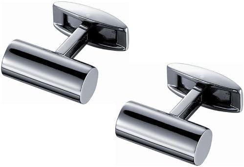 Visol Elegant Titanium Cylinder Cufflinks