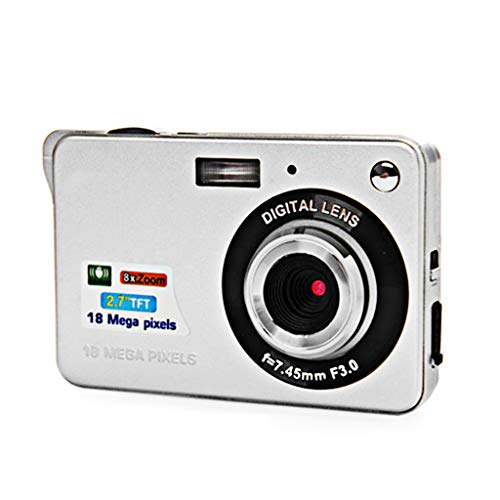 Buy Bargain ZCFXGHH 2.7 LCD Rechargeable HD Digital Camera Video Camera Digital Students Cameras,In...