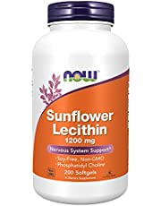 Now Foods, Sunflower Lecithin, 200 Softgels