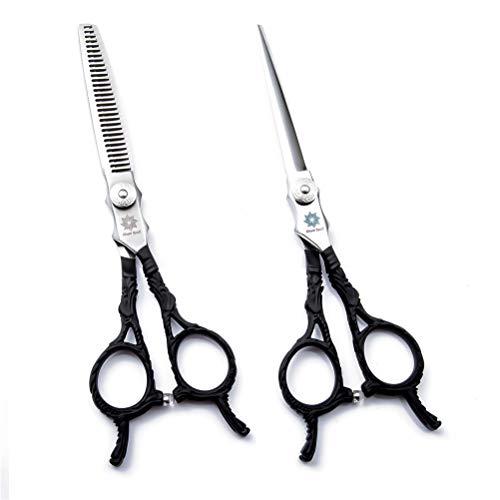 Jiahe Ciseaux, coiffeurs et coiffeurs de Coiffure Professionnels de 6 po à la Maison pour Couper Vos Cheveux et Votre Moustache