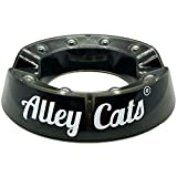 Alley Cats Bowling Ball Cup Stand with Ball Bearing Spinner Holder | Cleaner Mount for Bowling Balls...