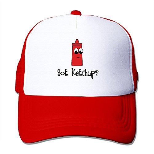Chen851185 Cap Got Ketchup Adjustable Hats Red