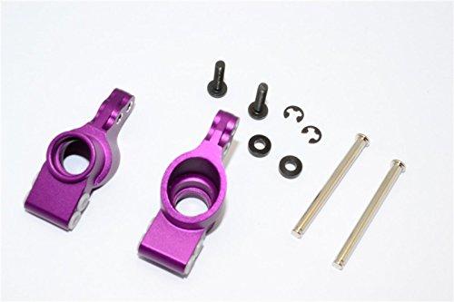 GPM HPI Bullet 3.0 Nitro & Bullet Flux Upgrade Pièces Aluminium Rear Knuckle Arm - 1Pr Set Purple