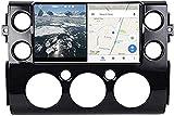 Android Sat Nav para Toyota FJ Cruiser 2007~2016 Unidad de Cabeza Coche Soporte de automóvil Soporte Completo RCA Salida de Salida Auto Play DVR Dab + GPS Sistema de navegación