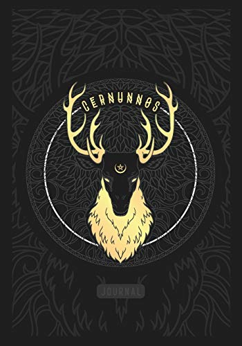 Cernunnos Journal: 120 Blank and Lined Page Notebook