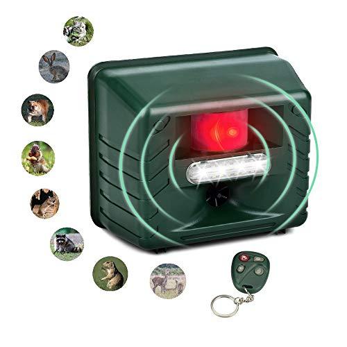 SMSELER 2 Flashing LED Lights,Eco-Friendly-Effective Animal Management Without T