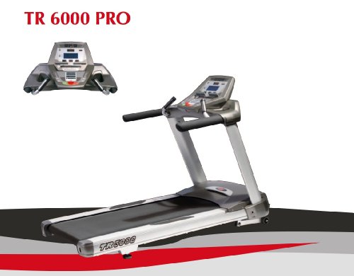 UNO Fitness TR 6000 Studio Laufband - Polar Ft1 Pulsuhr und Brustgurt