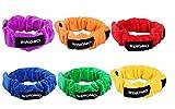 WINOMO - 6 cinturones con cuerda extensible para las fiestas infantiles, los juegos al aire libre, los recreos, etc.