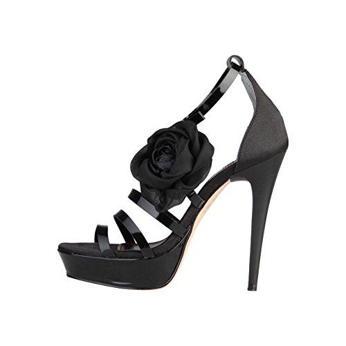 Primadonna PR12-10ATES_Nero Stilettos - Zapatos de tacón alto para mujer, color negro, talla 38, color Negro, talla 38 EU