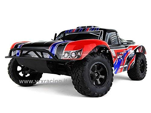VRX Short Course Truck 1/10 off Road con Motore a Scoppio Go.18 a 2 Marce – Radio 2.4GHz – 4 WD – RTR – RH1009 DT5 N.2