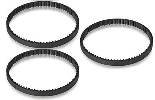 Replacement Parts (3) Belts for Shark Cordless Pet Perfect II 18V Vacuum SV780, SV780N, SV780N14