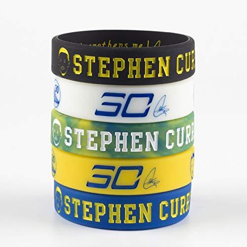 Xi-Link Silicone Bracelet, Basketball Star Avatar Series Bracelet, Star Stephen Curry 30 Inspiration Avatar Bracelet Sports Bracelet Silicone Hand Ring Night Light Fans Gift