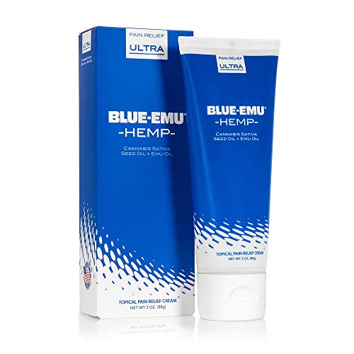 Blue-Emu Hemp Cream Pain Relief for Muscle and...