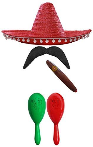 MEXICAN FANCY DRESS ACCESSORY SE...