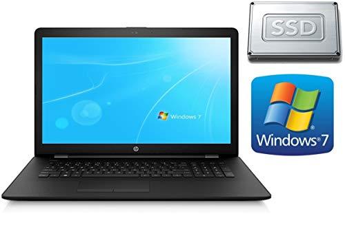 Notebook HP 17-AK - 4GB RAM - 128GB SSD - CD/DVD Brenner - 44 cm (17.3 Zoll) Matt - Windows 7 Pro 64BIT + Office Starter