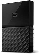 WD 1TB Black USB 3.0 My Passport Portable External Hard Drive (WDBYNN0010BBK-WESN) (Renewed)