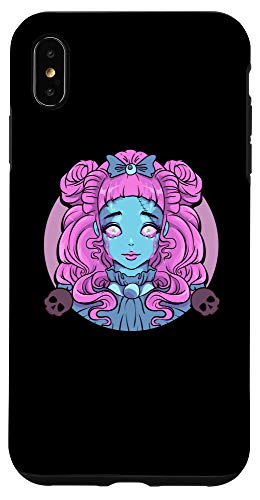 iPhone XS Max Pastel Goth Porcelain Doll Crying Tears Case -  Pastel Goth Porcelain Doll Crying Tears Designs
