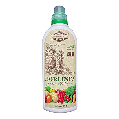 Borlinfa - Concime Biologico, Organico Azotato, Borlanda fluida | 1 Kg