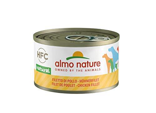 Almo Nature Dog HFC Natural Filetta di Pollo - Confezione da 24 x 95 gr - Totale 2280 gr