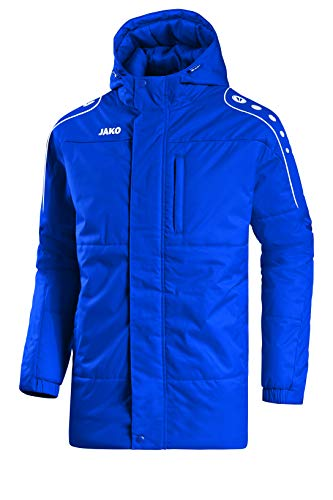 JAKO Herren Coachjacke Active, royal/weiß, L