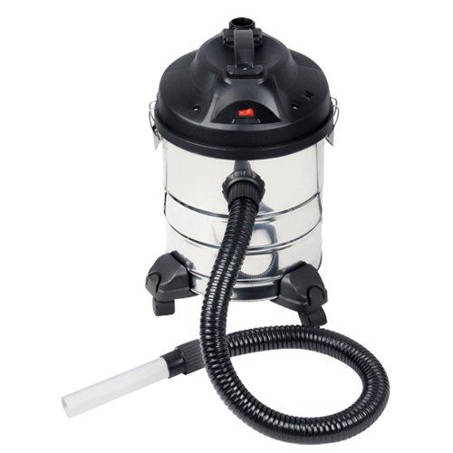 Rowi 1 12 01 0015 - Aspiracenere'RAS 800/20/2 F Inox Premium', con rotelle