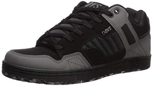 DVS Men's Enduro 125 Shoe, Black Char CAMO Nubuck, 9.5 Medium US