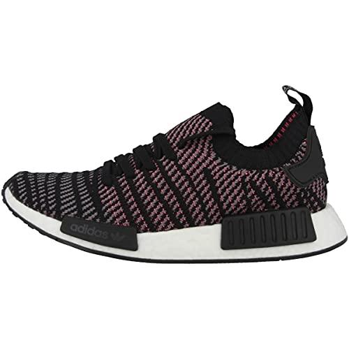 adidas NMD_R1 STLT PK, Zapatillas Hombre, Negro (Core Black/Grey Four/Solar Pink 0), 43 1/3 EU