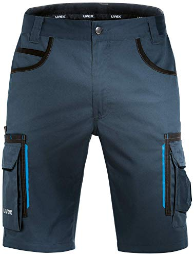 Uvex Tune-Up Arbeitshosen Männer Kurz - Shorts für die Arbeit - Dunkelblau - Gr 36W/Etikettengröße- 54