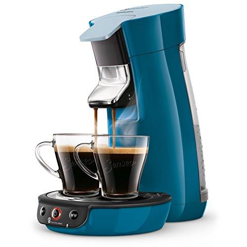 Philips hd6563/71Senseo Viva Kaffeepadmaschine 400100001, 0,9l, blau Ente