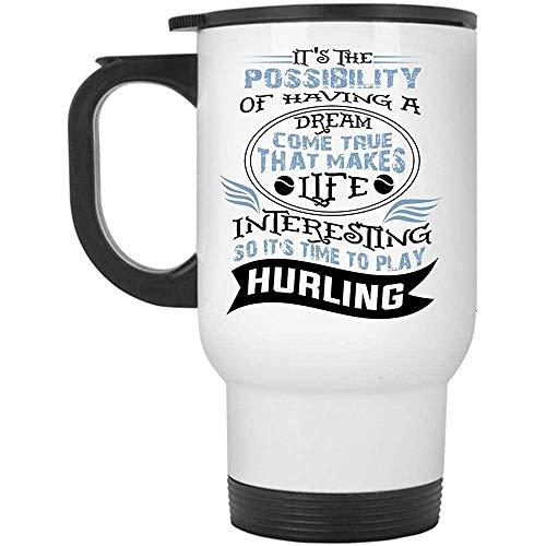 Little Yi Es 'S Time To Play Hurling Travel Mug', es la