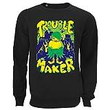 Photo de Générique Little Kid Monster Trouble Maker Unisex Pullover Sweater Sweatshirt Large