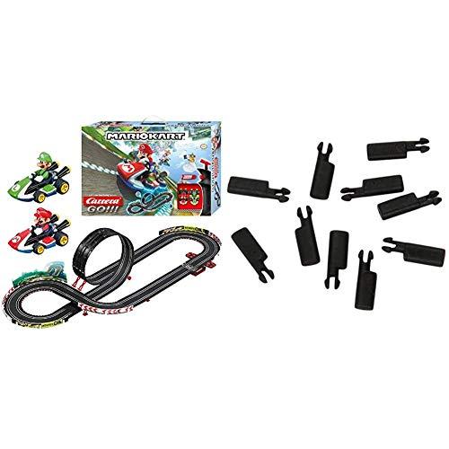 Carrera GO!!! Nintendo Mario Kart 8 Rennstrecken-Set | 4,9m elektrische Carrerabahn mit Mario & Luigi...