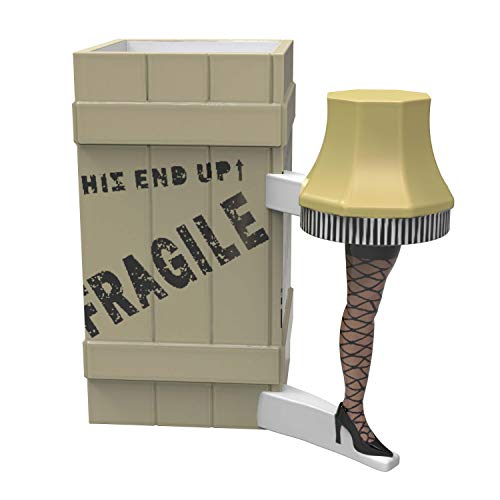 Zak Designs Christmas Story Movie Leg Lamp Unique 3D Character Sculpted Ceramic Coffee Mug, Collectible Keepsake and Wonderful Coffee Mug (10 oz, Leg Lamp, BPA-Free)