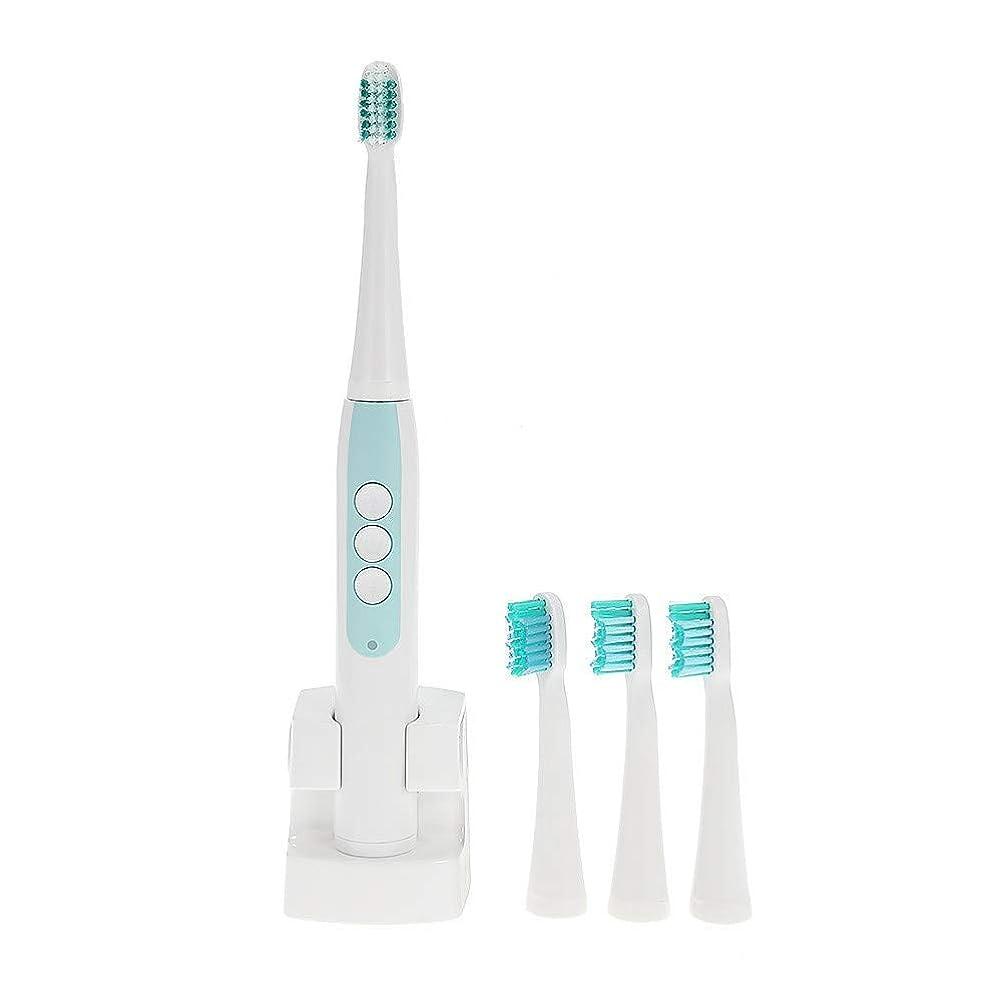 電動歯ブラシ大人のための超音波自動電気防水歯ブラシ歯ブラシヘッド電動歯ブラシ交換