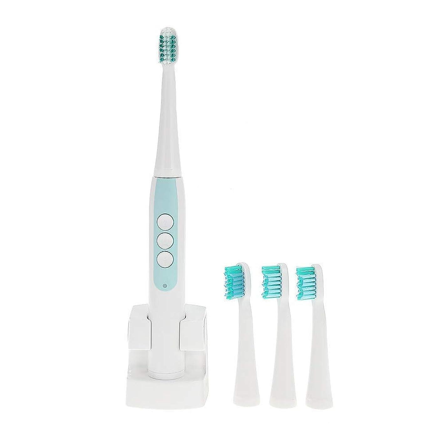 標準少ない滑りやすい電動歯ブラシ大人のための超音波自動電気防水歯ブラシ歯ブラシヘッド電動歯ブラシ交換