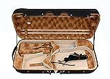 New Double Case Violin Case Viola Case Hold 2 pcs 4/4 Full size Violin/Viola Music sheet Bag