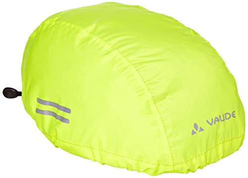 VAUDE Kinder Helmet Raincover, Neon Yellow, 03965