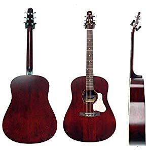 ade3c793830 $449 Seagull S6 Original Acoustic Guitar Limited Edition Tennessee Red with  Bag