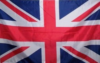 MM Grossbritannien - Union Jack Flagge/Fahne, 150 x 90 cm, wetterfest, mehrfarbig, 16207
