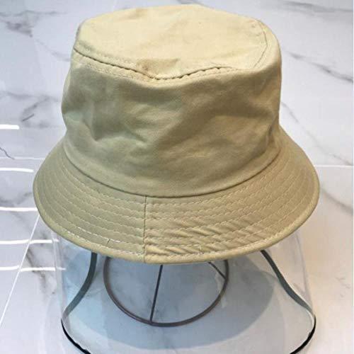 liqun TPU Niño Color Sólido Sombrero De Pescador Moda Primavera Otoño Unisex Tapa De Lavabo para Bebé Tapa Protectora, 04, Talla Única