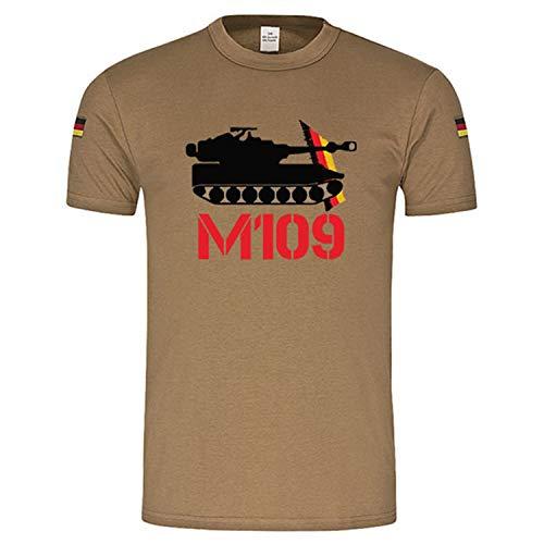 Copytec BW Tropen M109 Panzerhaubitze original BW Tropenshirt nach TL #14943, Größe:XXL, Farbe:Khaki